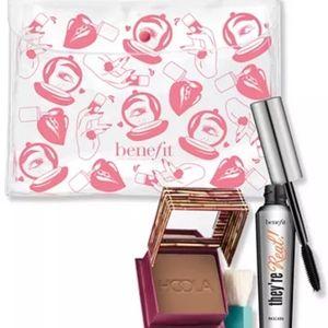 BNIB LE Benefit Cosmetics 3PC Real Hoola Deal Set!